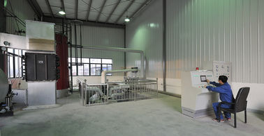 China High Oil Ratio Plastic Pyrolysis Equipment , Small Pyrolysis Plant Green Technology supplier