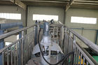 PP PE PS  Plastic Into Fuel Machine , Waste Plastic To Oil Plant With Computer Monitor