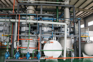 China Computerized Tyre Oil To Diesel Plant , Waste Plastic Pyrolysis Plant Energy Saving factory